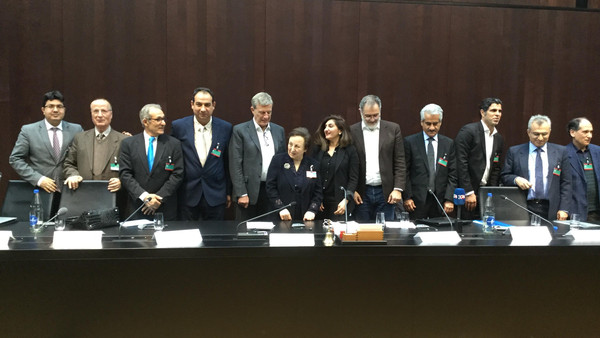 Representatives of Non-Persian Nationalities of Iran in Swiss parliament