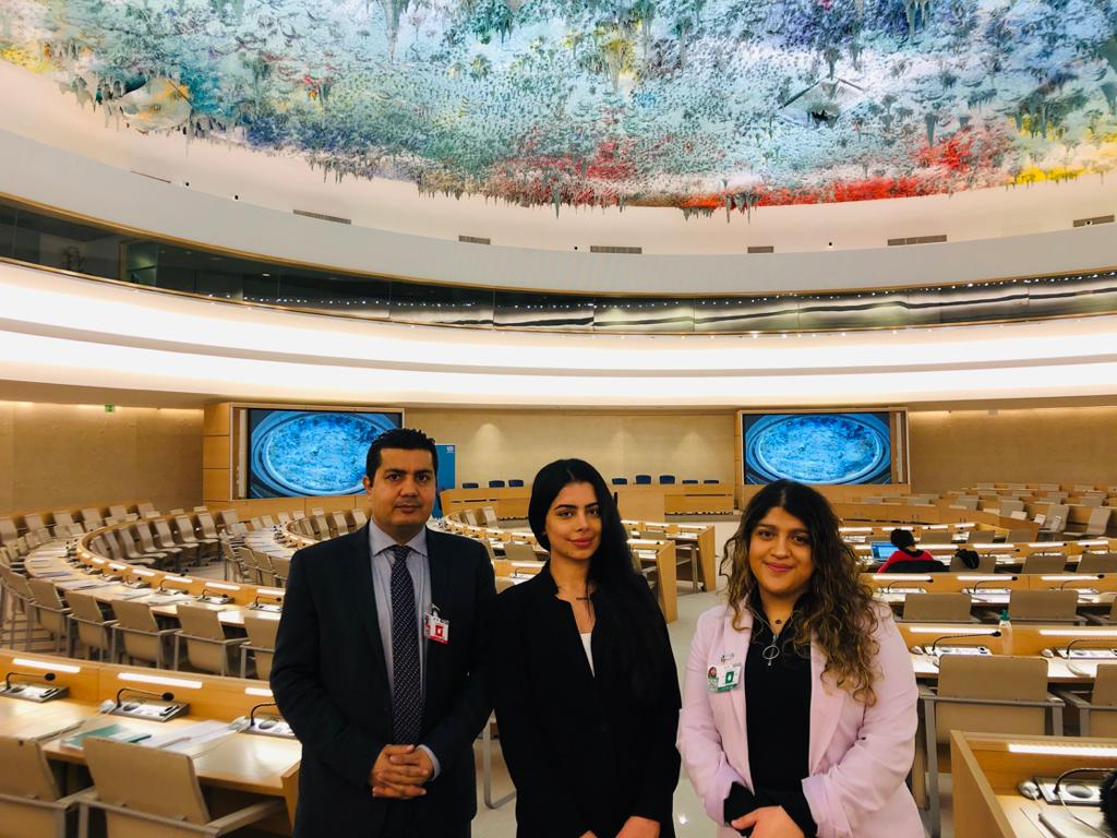 AHRO's statement in minorities forum at the 43th UN human rights council session