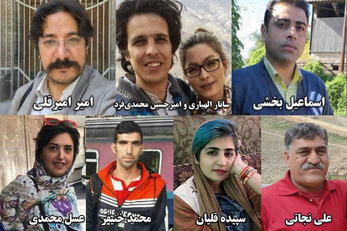 Iranian court sentences jail and flogging against seven workers and activists in Ahwaz for union protests