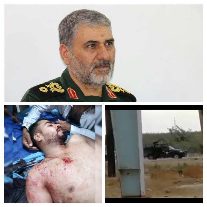 Iran's Revolutionary Guards Commander in Ahwaz ranked on the US sanction list for the Maashur (Mahshar) massacre