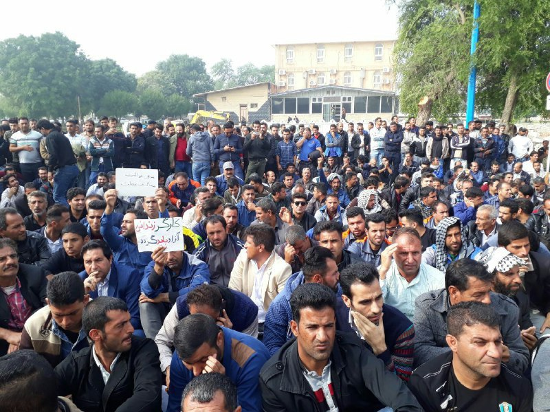 Iran must end the crackdown on the protests and strikes of workers in Shush and Ahwaz